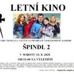 Letní kino v Ženklavě - Špindl 2
